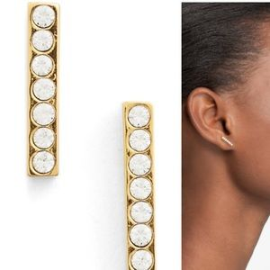 kate spade Jewelry - New Kate spade New York Dainty Sparklers Bar Studs